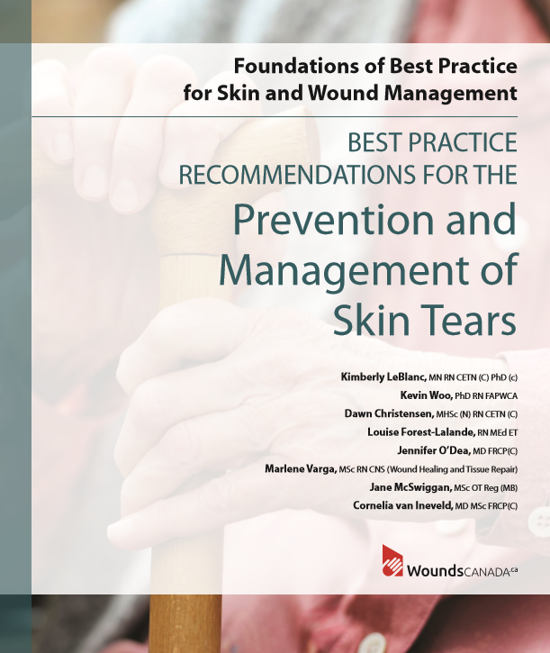 Prevention and management of skin tears