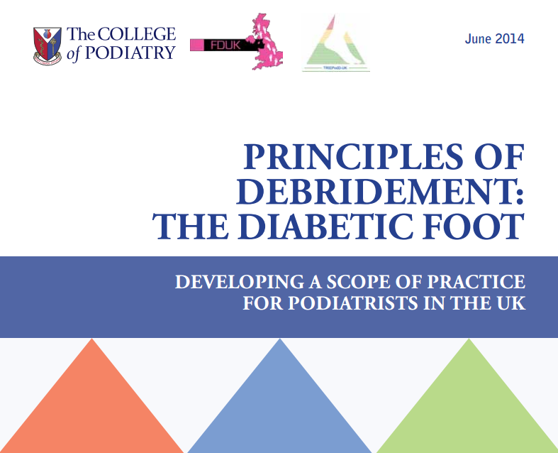 Principles of debridement: The Diabetic Foot