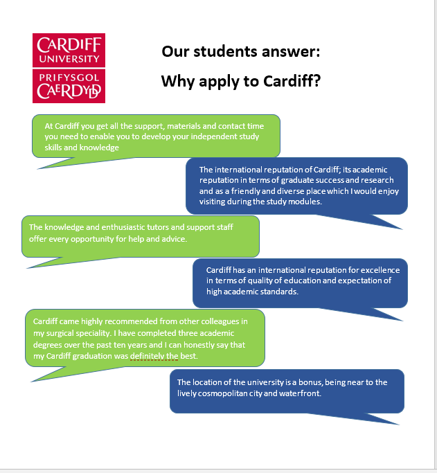 Our students answer: why apply